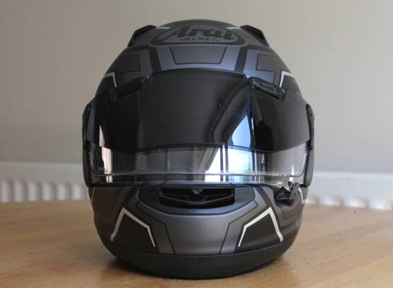 arai qv pro helmet review