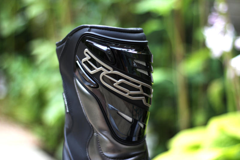 TCX boots close up